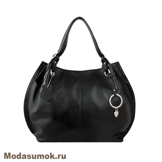 7a38f391c354 Женская сумка из натуральной кожи L-Craft L 55 черная купить в Воронеже в  интернет-магазине Мода-Сумок